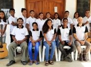 Salvationist helps launch Bible college in Timor Leste