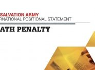Salvation Army calls for end to death penalty