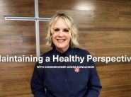 Donaldson devotion - 'Maintaining a healthy perspective'