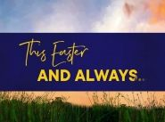 Easter - a hope that shines brightly