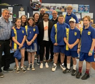 Bellarine students on track with Olympian Nova Peris