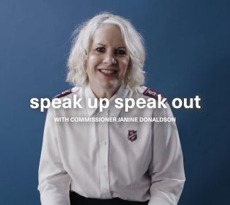 Donaldson devotion - 'speak up and speak out'