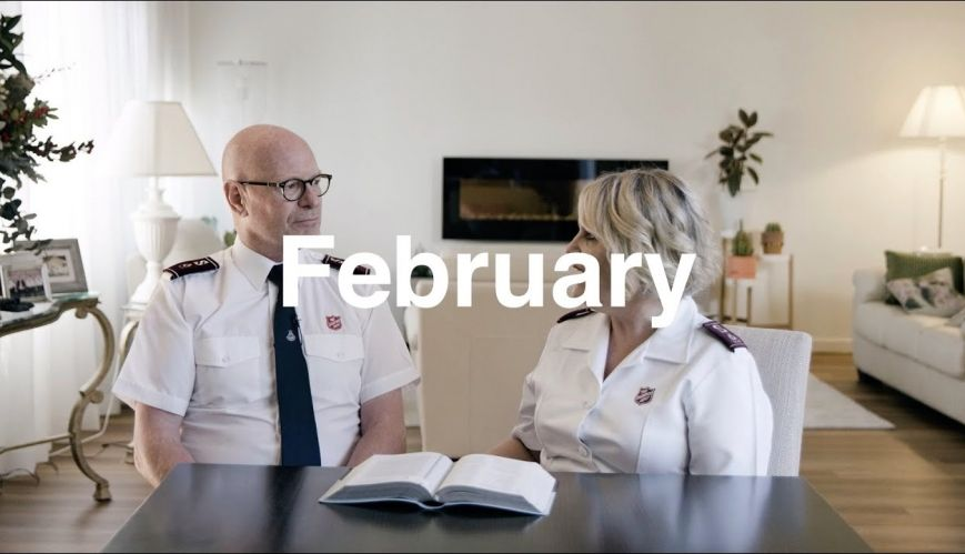 Donaldsons' Monthly Message: February 2020