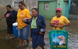 Salvation Army flood response begins in Dominican Republic