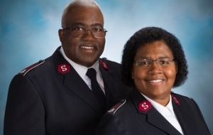 First African American divisional commanders on a mission
