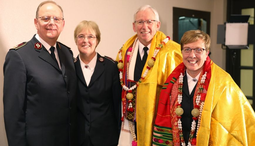 High Council elects 21st General of The Salvation Army