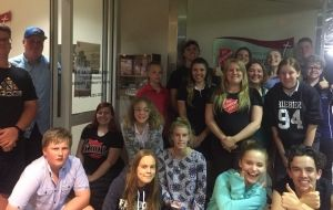 Tuggeranong youth on a mission with their 'Blessing Box'
