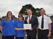 Doveton volunteers recognised with Holt Australia Day Award