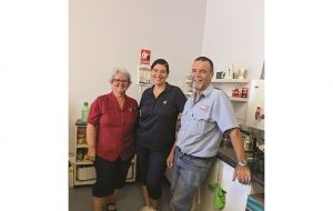 Serving the Salvos over a million square kilometres