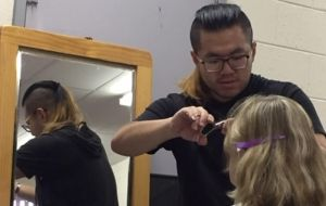 Volunteers bringing hope one haircut at a time