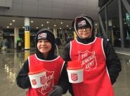 Young collectors kicking goals for the Salvos