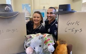Christmas toys bring cheer to outback kids