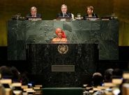 UN Commission focuses on women's status in the world
