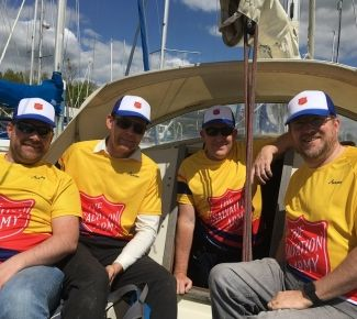 British Salvo crew to sail against slavery