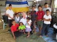 Colonel Alley fulfils promise to visit remote PNG village