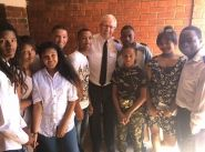 The Chief of the Staff encourages Salvationists and service users in South Africa
