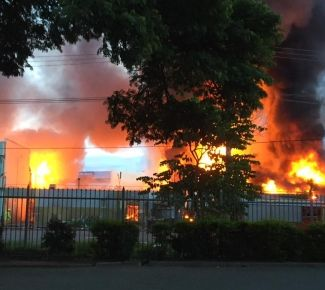 Fires, looting, gunshots outside Salvos THQ in Port Moresby