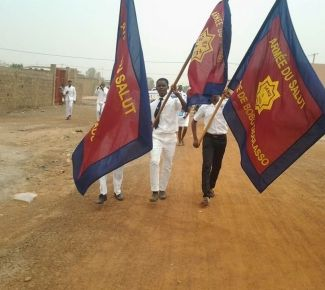 Salvation Army's work to be officially recognised in Burkina Faso