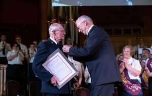 Commissioner Read receives award of the highest order