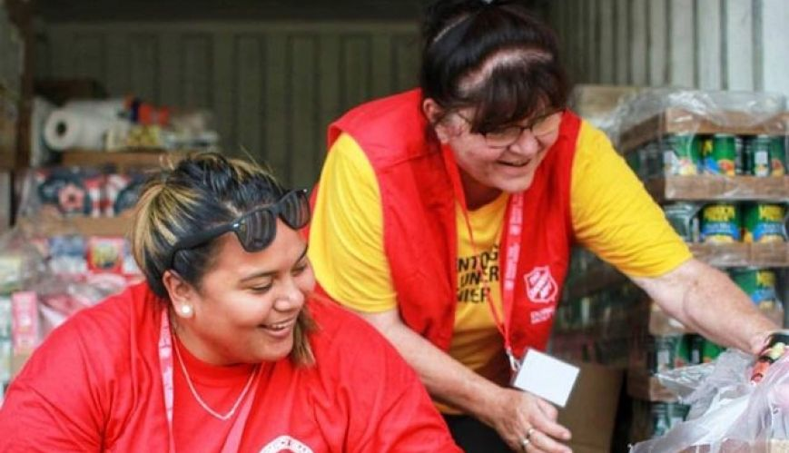 Salvation Army relief efforts intensify in Hawaii