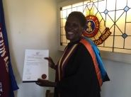 Malawi officer graduates from Eva Burrows College