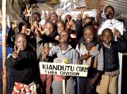 Kenyan kids spreading message of peace through song