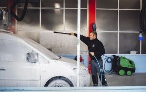 Car wash offers a clean start in life