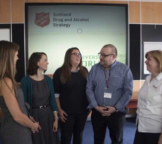 Salvation Army addiction centre opens in Scotland
