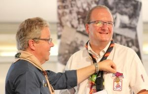 Scout leader awarded Order of the Founder