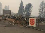 Army properties burned to the ground in California