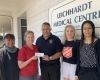 Tee-mendous golf tournament donation above par