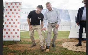 Tamworth turns the sod on drought relief