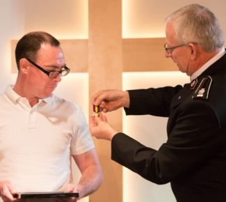 Geary awarded Salvation Army's 'highest honour'