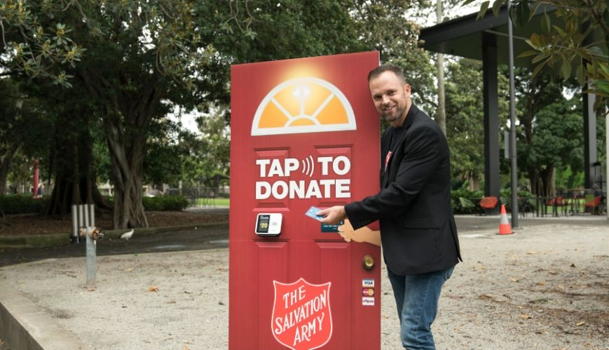 Tapping into a new way of giving