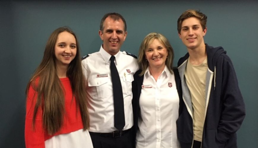 New season of leadership in The Salvation Army
