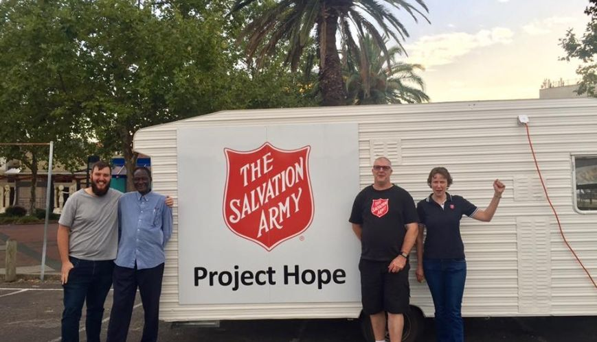New Salvos initiative bringing hope to the streets of Dandenong