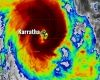 'Screaming' wind welcomes Pam to Karratha