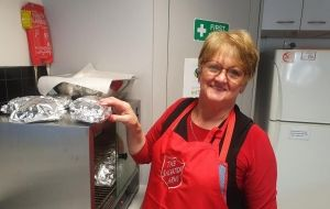 Pam and Craigieburn Salvos are the 'perfect match'