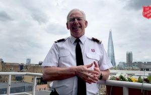 General of The Salvation Army cries out a 'Hosanna!'