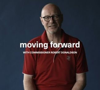 Donaldson devotion - moving forward