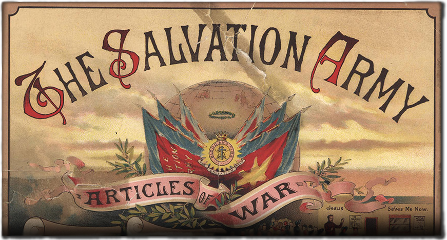 Image result for the salvation army articles of war